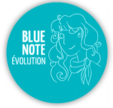 Blue Note Evolution Logo